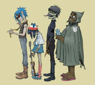 Gorillaz bandmembers