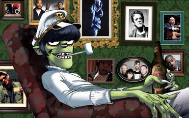 Gorillaz Live on Letterman