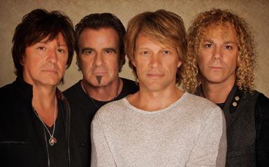 Bon Jovi live on letterman