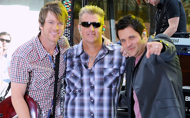 new album Watch Rascal Flatts Streaming Live on Letterman Concert Tonight!