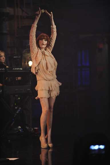 Florence Live on Letterman