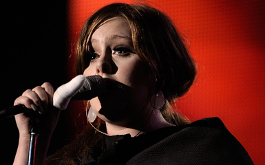 adele strips down Adele Sings Natural Woman Stripped Down