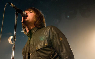 Lliam Gallagher of Beady Eye (Robert Marquardt/Getty Images)