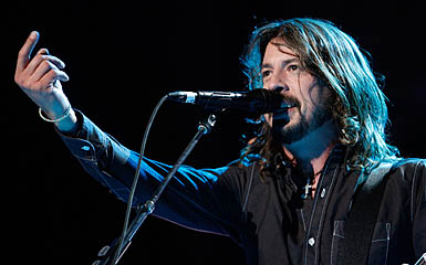 Foo Fighters live webcast is tonight at 9pm ET (Frazer Harrison/Getty Images)