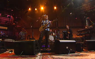 Ben Harper LIve on Letterman