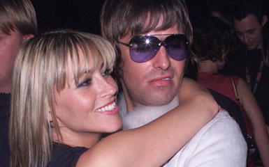 oasis singer liam gallagher married his longtime girlfriend all saints singer nicole appleton Ten Things You Didnt Know About Beady Eye